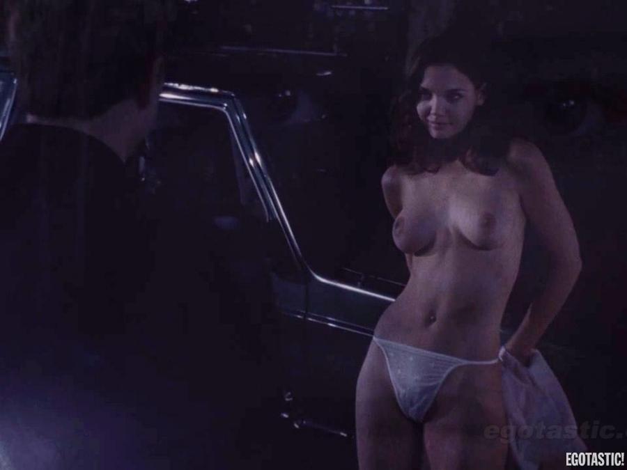 Topless katie holmes Katie Holmes