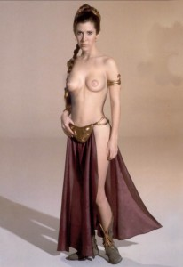 Carrie fisher shows her tits thanks for