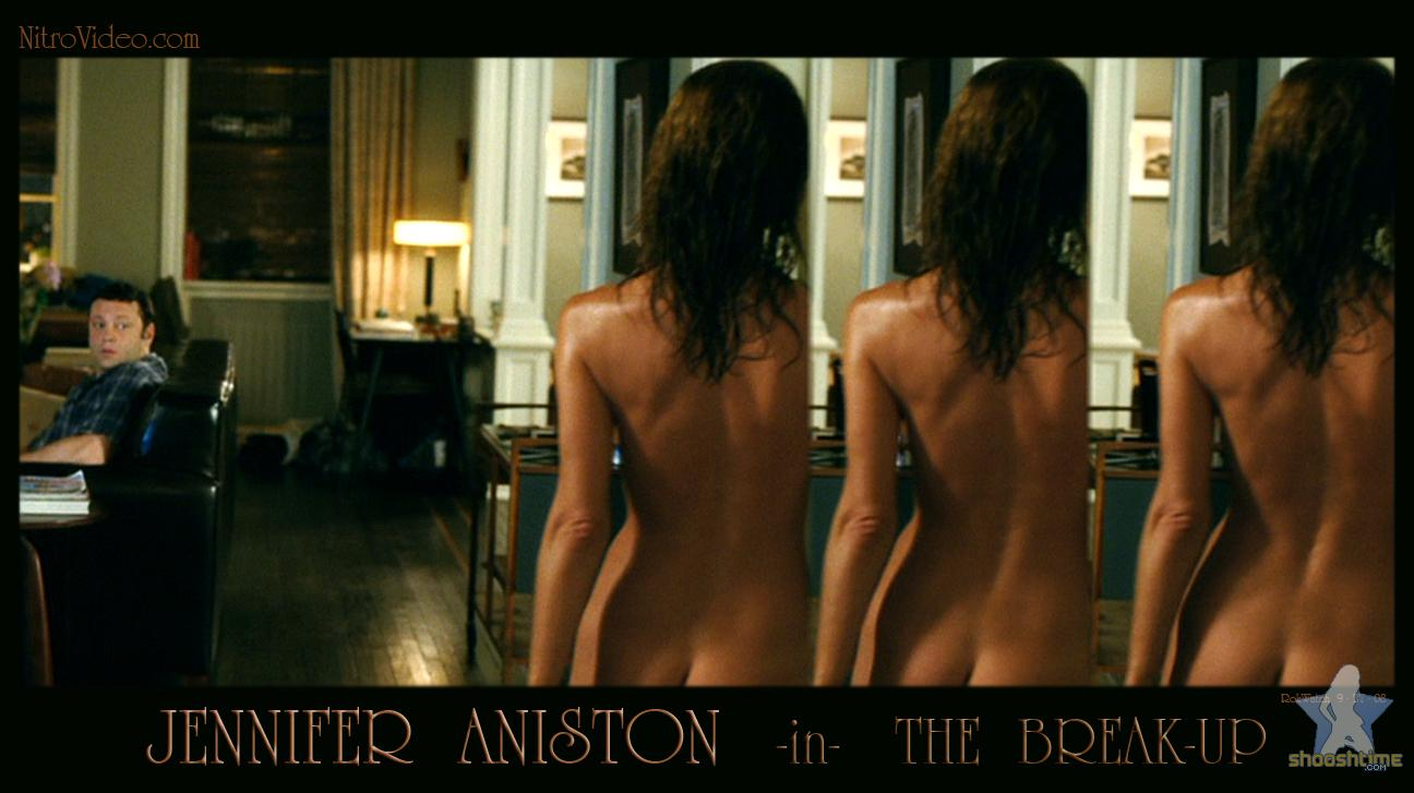 jennifer aniston nude on the break up